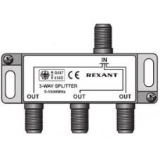 """Разветвитель """"Rexant""""   1 вх. - 3 вых.  5 - 860 мГц"""