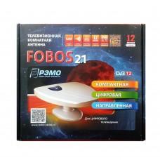 Антенна FOBOS DVB-T2 12 V с усилителем комнатная
