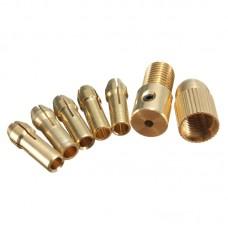 Патрон цанговый от 0,1 мм до 3,5 мм на вал 3 мм
