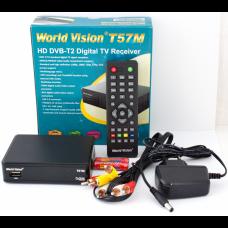 Цифровая приставка WORLD Vision T57