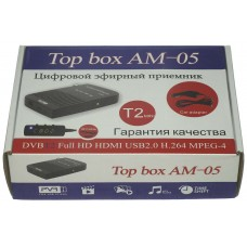 Цифровая приставка Top box AM-05 ( питание 12 В от прикуривателя)